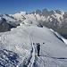 Abstieg über die Norwestflanke und Triftgletscher
