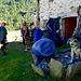 Käserei auf Alpe di Lendine