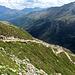 Der Hüttenweg der SAC Bergseehütte.