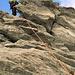 Klettern am Lochmatterturm