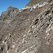 Face sud du Schesaplana : pentes de schistes vers 2600m, pied sûr de rigueur.