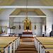 ... und Inneres der schönen Kirche in Kvikkjokk
