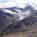 Aussicht zum Brizzisee / Samoarsee im Abstieg von der Kreuzspitze