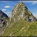 die letzten Meter zur Gumpenkarspitze