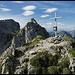 die allerletzten Meter zur Gumpenkarspitze