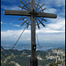 Großes Kreuz mit kleinem Gipfelbuch