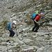 Blockgewirr und Steine sorgen für Abwechslung auf dem Sentiero.