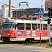 Strassenbahn in Краснодар (Krasnodar).<br /><br />Anmerkung: Für die lokale Zeit muss zur Aufnahmezeit eine Stunde dazu gezählt werden.