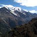 Le massif des Mischabels vu depuis la Topalihütte.