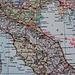 Lage der kleinen Republik San Marino die vollstämdig von Italien umgeben ist.<br /><br />Eingekreist sind Rimini und Bologna wo ich ebenfalls Aufenthalt hatte und die Städte kurz erkunden konnte.