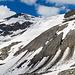 Der andere Ausläufer des Gletschers ist um einiges steiler