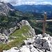 Kleines aber feines Gipfelkreuz auf dem Raucheck (2192m).