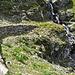 Durchaus ist der Weg entlang der Heidona-Suone aber gut ausgebaut.