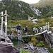 Il nuovo ponticello per la Val Cadlimo