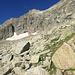 Weiter zum Einstieg des Klettersteigs auf den Sonnigpass
