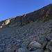 Aufstieg in die Scharte zum Passo delle Coronette 2.677 m