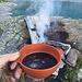 Lagerfeuer zum Kaffee kochen