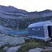 einsam, Bivacco am Lago di Camposecco 2.325 m