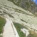 Wasserleitungen mit Wanderweg obendrauf