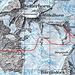 Oberes Beesibärgli-Gletschereinstieg und Rosenhorn