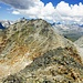 Auf dem Piz Timon mit Blick zum Stellibodenhorn