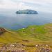 Gásadalur mit der Insel Mykines