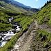 über die Weiden entlang des Sousbachs