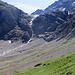 Steilstufe am Gletscherabbruch