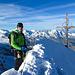 Gipfel des [peak5640 Täschhorn]s
