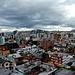 Zurück in Quito mit typischem Wetter für unsere Ferien in Ecuador