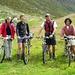 Alp Grialetsch: pronti per la discesa in bici...