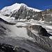 """Bishorn. Der Felsklotz namens """"Chänzelti"""" im Vordergrund scheint schon nicht mehr so hoch."""