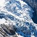 Zoom zum Gletscher hinunter