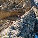 Abstieg auf dem Aufstiegsweg