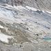Vom Gletscher geschaffene Landschaft