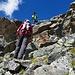 hinauf über die Klötze zur Crasta Languard ( 3095m )