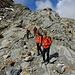 Kurz vorm Einstieg auf den Gletscher