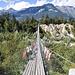 Bhutanbrücke über den Illgraben