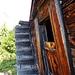 unten Stall, oben Wohnung - interessante Treppenkonstruktion