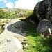 Wanderweg entlang einiger Felserhebungen
