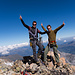 Hampelmannen zufrieden und überaus beglückt auf dem wunderschönen Hangendgletscherhorn!