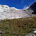 La petite barre rocheuse vers 2600 m. Très facile à franchir.