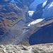 Die wunderschönen Moränen des Tschierva-Gletschers - vor 160 Jahren füllte er das Tal zwischen ihnen aus...