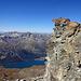Namenloser Zwischen-Gipfel mit exponierter Aussichtskanzel und grandiosen Tiefblicken