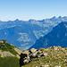 Zoom zu den Gipfeln vom Lidernengebiet und zum Fronalpstock