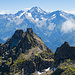 Ruchälplistock. Im Hintergrund der mächtige Oberalpstock.
