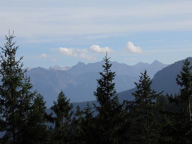 Karwendel im Hintergrund