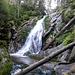Der Wasserfall Bílá Strž liegt in einer wunderschönen Naturreservat.