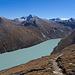 Mattmarkstausee und Monte Moro-Pass