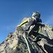 """Mit Bergschuhen anders als mit """"Kletterschuhen"""""""